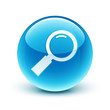 icône loupe zoom / magnifying glass icon