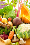 Autumnal vegetables