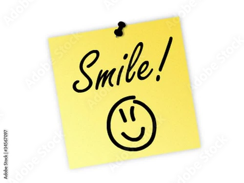 smile post it