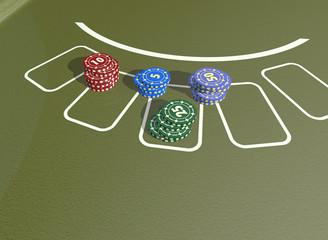 Poker Chips und Karten 4
