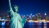 Fototapety New York Manhattan statue de la Liberté