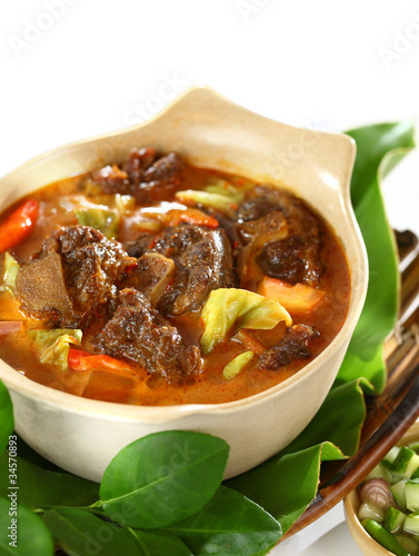 Mutton in Sweet and Spicy Soy Sauce