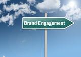 "Signpost ""Brand Engagement"""