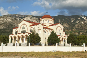 Saint Gerasimos of Omalon at Kefalonia island in Greece