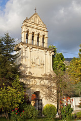 Saint Gerasimos of Omalon steeple at Kefalonia island