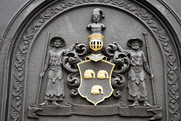 Wappen Eisengießerei alt