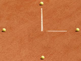 Tennis Uhr 1, time to play