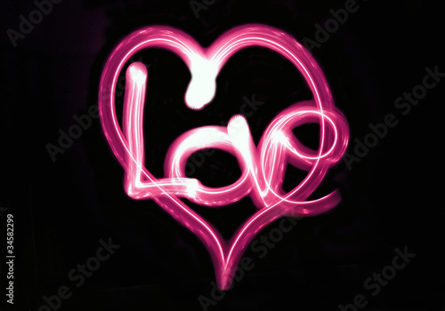 lightpainting - love