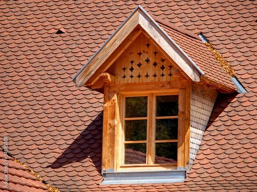 Fenetre de toiture de olympixel photo libre de droits for Fenetre toiture