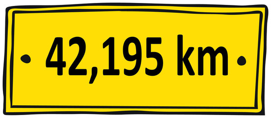 Marathon 42,195 km