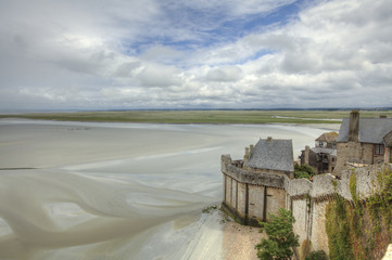 la baia di Le Mont-Saint-Michel - France 2011