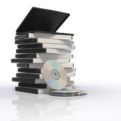 DVD/CDとケース