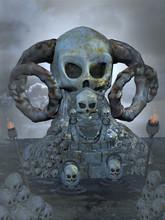 Tron czaszki