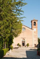 chiesa del borgo di Rivalta