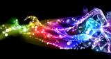 Colorful smoke and lights - 34592014