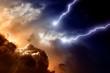 Dramatic sky - 34594228