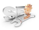 Fototapety SEO optimization. Business in internet.  3D illustration. Isolat