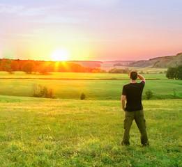 sunset beholder