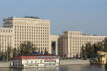 Frunze Embankment in Moscow