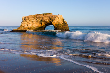 Natural Bridge in California