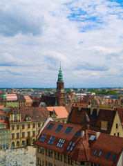 old town (market square), Wroclaw, Poland