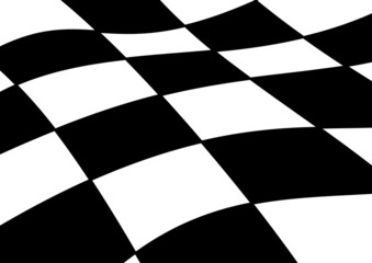 Race flag background