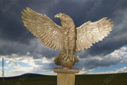 Symbol of the Roman legions in the antiquity