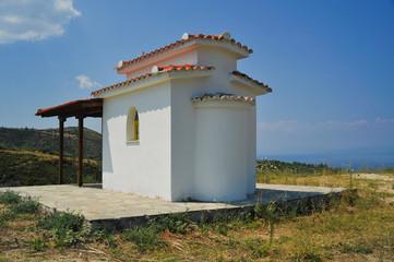 small church in greece