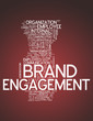"Word Cloud ""Brand Engagement"""