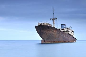 Barco fantasma.