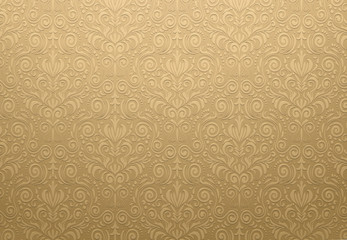 Golden Vector Texture