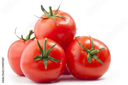 canvas print picture Tomatos