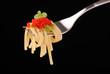 spaghetti al caviale rosso - uno