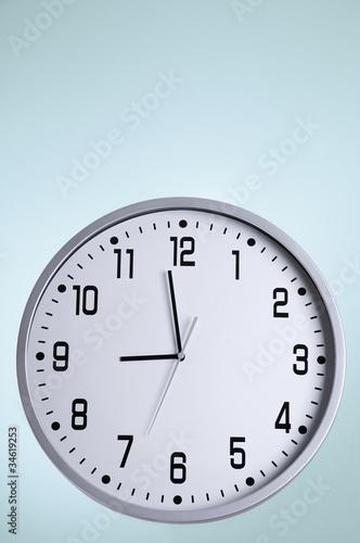 Big white clock