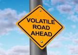 Volatile road ahead poster