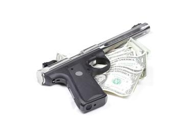 Money and guns.