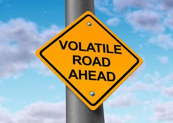 Volatile road ahead