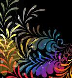Imagination rainbow pattern poster
