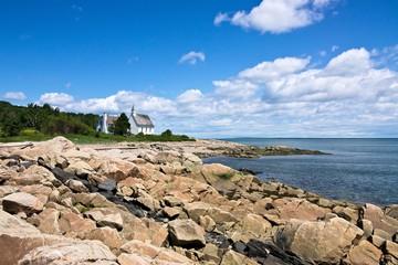 Paysage de Charlevoix au Québec,Canada (Port au Persil)