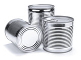 Fototapety Tin cans