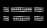 11 septembrie contra metalice - textul în limba spaniolă