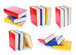 collection of colorful book formation
