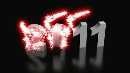 Glittering  New Year 2012