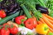 Arrangement von Gemüse vegetarisch