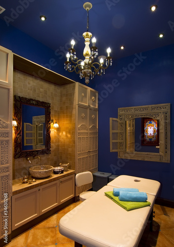 cabinet for  indian ayurvedic  massage