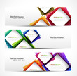 abstract modern website banner