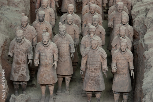 Fotobehang Xian Armée de terre cuite, Chine 05