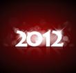 Vector New Year card 2012