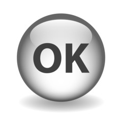 """OK"" Web Button (connection internet continue click here go)"