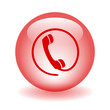 HOTLINE Web Button (contact phone call us now customer service)